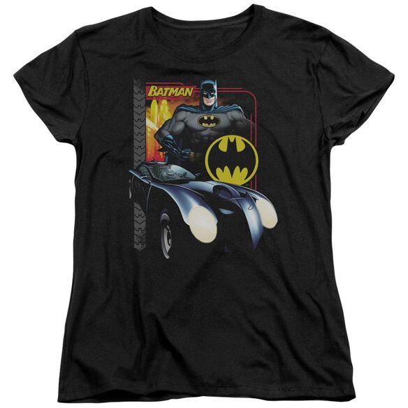 Batman Bat Racing Short Sleeve Women's Tee T-Shirt