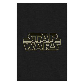 Star Wars Logo Supersized Sweatshirt Throw Blanket