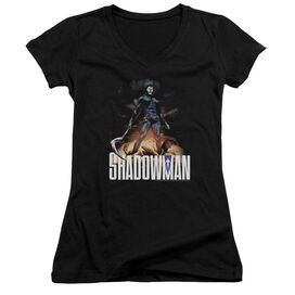 Shadowman Shadow Victory Junior V Neck T-Shirt