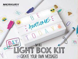 Do-It-Yourself Mini Light Box Kit