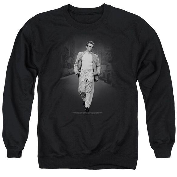 Dean Out For A Walk Adult Crewneck Sweatshirt