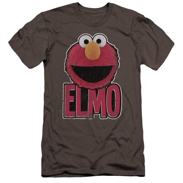 Sesame Street Elmo Smile Premuim Canvas Adult Slim Fit