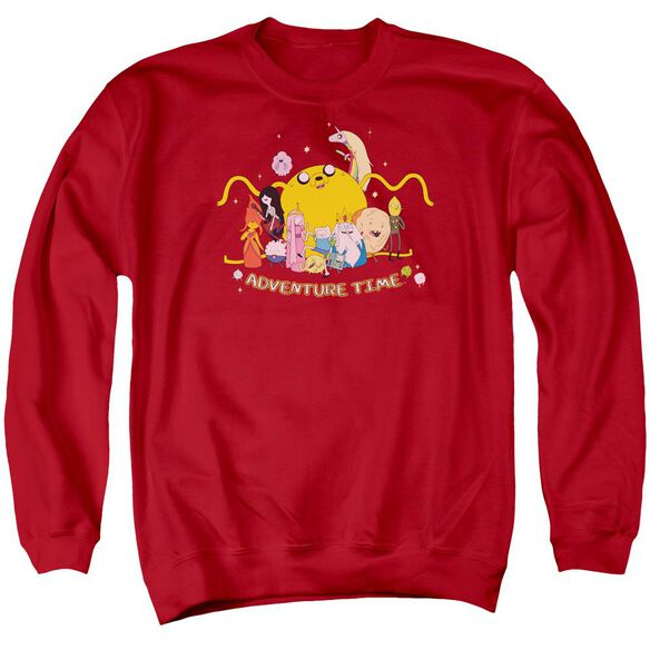 Adventure Time Outstretched Adult Crewneck Sweatshirt