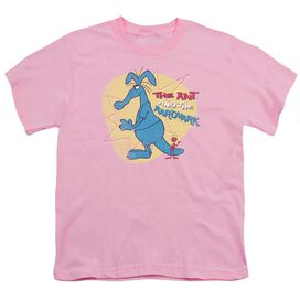 PINK PANTHER ANT AND AARDVARK - S/S YOUTH 18/1 - PINK T-Shirt