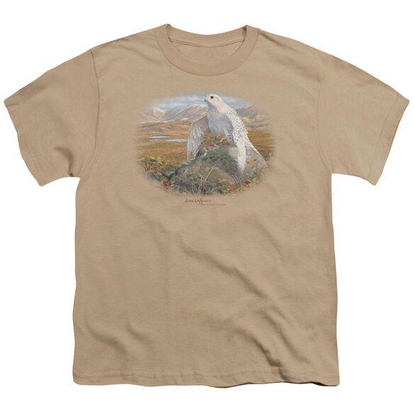 Wildlife Gyrfalcon Short Sleeve Youth T-Shirt