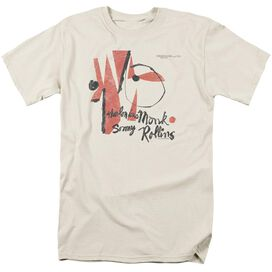 Thelonious Monk Monk Sonny Rollins Short Sleeve Adult Cream T-Shirt