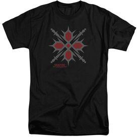 Vampire Knight Hunter Symbol Short Sleeve Adult Tall T-Shirt