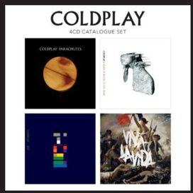 Coldplay - 4 CD Catalogue Set: Parachutes/A Rush of Blood to the Head/X&Y/Viva La Vida