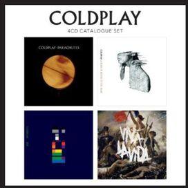 Coldplay - 4 CD Catalogue Set: Parachutes/A Rush of Blood to the Head/X&Y/Viva La Vida
