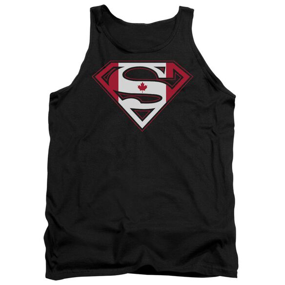 Superman Canadian Shield Adult Tank