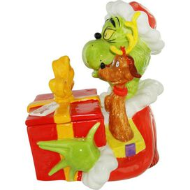 Dr Seuss Grinch Cookie Jar