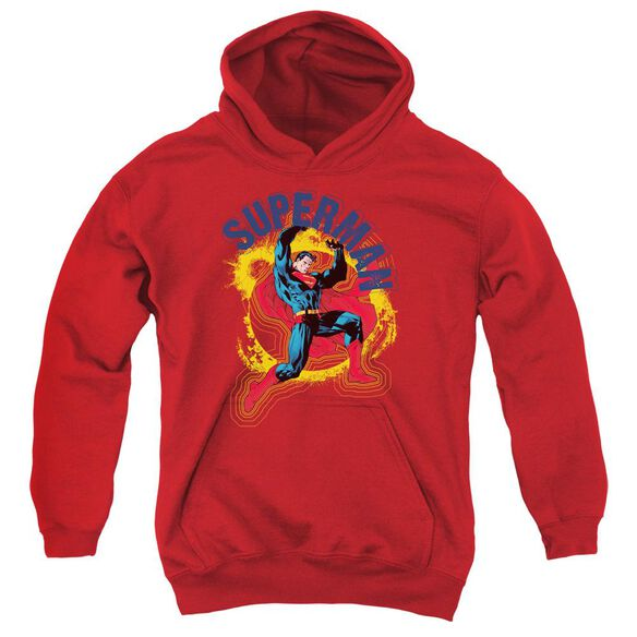 Superman A Name To Uphold Youth Pull Over Hoodie