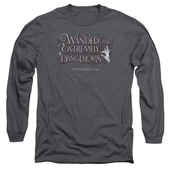 Fantastic Beasts Wanded Long Sleeve Adult T-Shirt