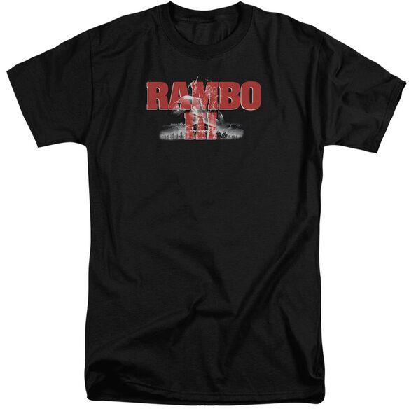 Rambo Iii John Rambo Short Sleeve Adult Tall T-Shirt