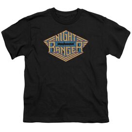 Night Ranger Logo Short Sleeve Youth T-Shirt