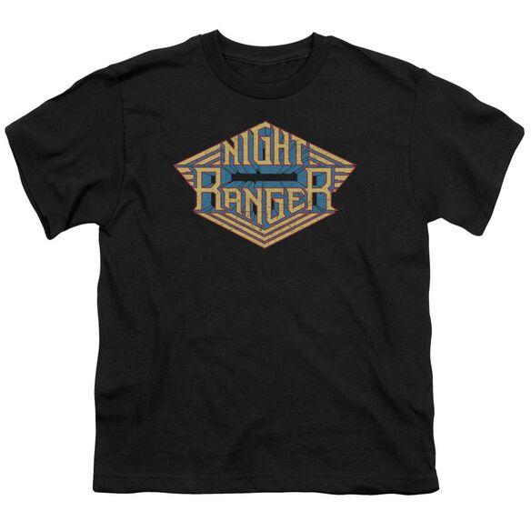 Night Ranger Logo Short Sleeve Youth T-Shirt