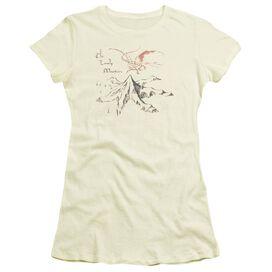 THE HOBBIT LONELY MOUNTAIN - S/S JUNIOR SHEER - CREAM T-Shirt