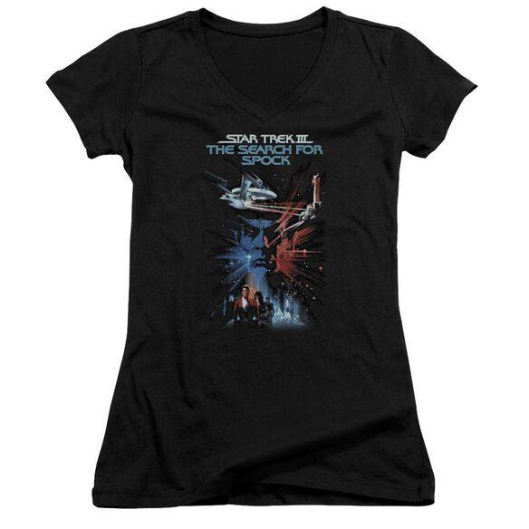 Star Trek Search For Spock(Movie) Junior V Neck T-Shirt