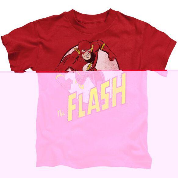 DC FLASH THE FLASH - S/S JUVENILE 18/1 - RED - T-Shirt