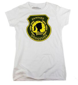 Parks and Recreation Pawnee Goddesses Women's T-Shirt