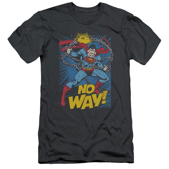 Dc No Way Short Sleeve Adult T-Shirt