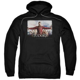 Tudors The Final Seduction Adult Pull Over Hoodie Black