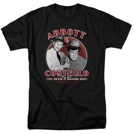 ABBOTT & COSTELLO BAD BOY - S/S ADULT 18/1 - BLACK T-Shirt