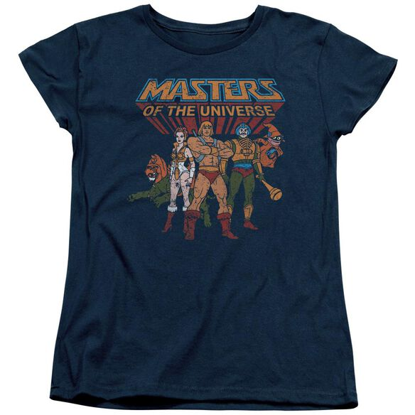 Masters Of The Universe Team Of Heroes Short Sleeve Womens Tee T-Shirt