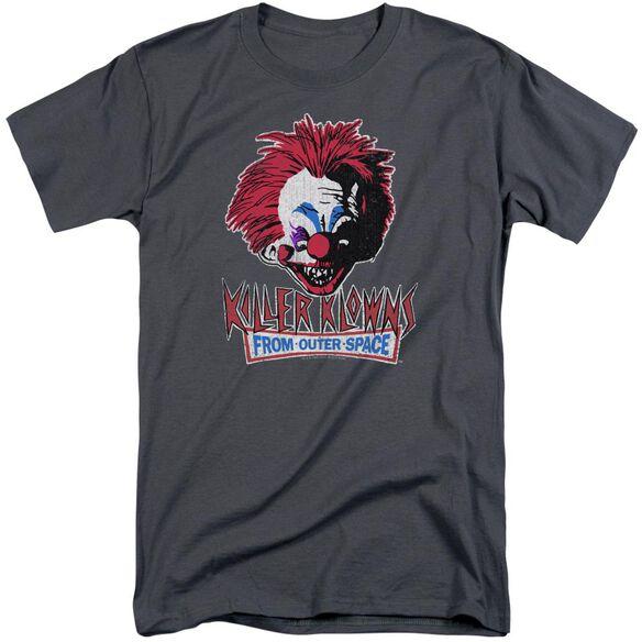 Killer Klowns From Outer Space Rough Clown Short Sleeve Adult Tall T-Shirt