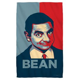 Mr Bean Poster Beach Towel