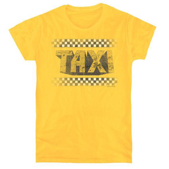 TAXI RUN DOWN TAXI - S/S WOMENS TEE - YELLOW T-Shirt