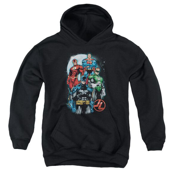 Jla The Four Youth Pull Over Hoodie