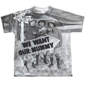 Three Stooges Tunis 1500 Short Sleeve Youth Poly Crew T-Shirt