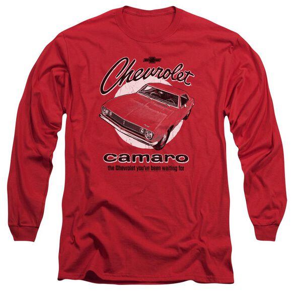 Chevrolet Retro Camaro Long Sleeve Adult T-Shirt