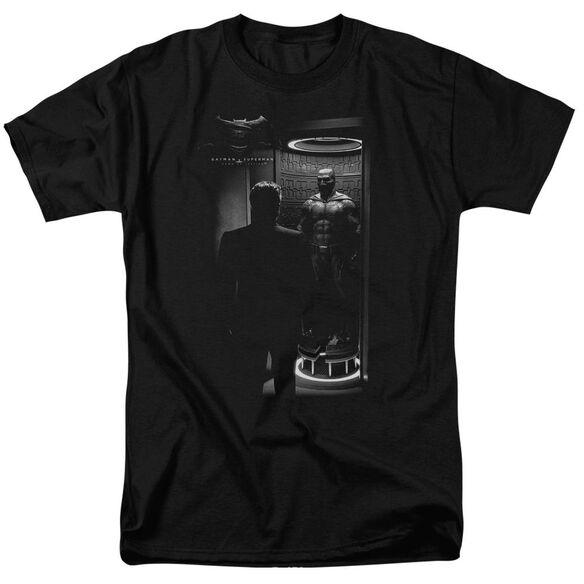 Batman V Superman Suit Up Short Sleeve Adult Black T-Shirt