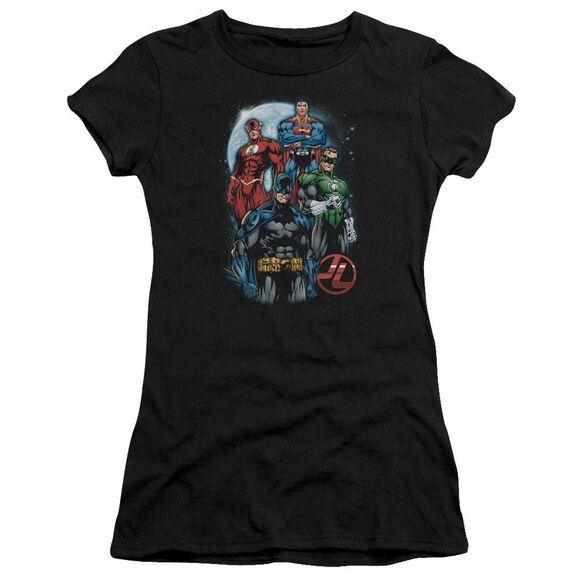 Jla The Four Short Sleeve Junior Sheer T-Shirt