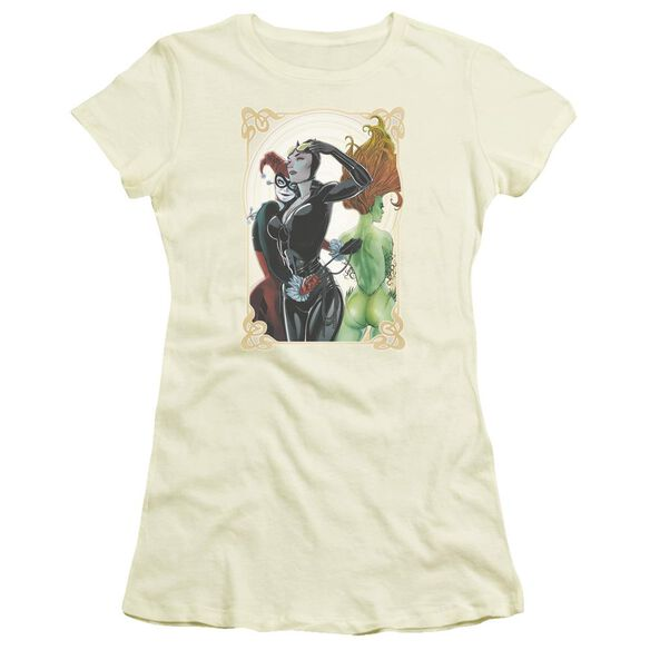 Batman Sirens Nouveau Short Sleeve Junior Sheer T-Shirt