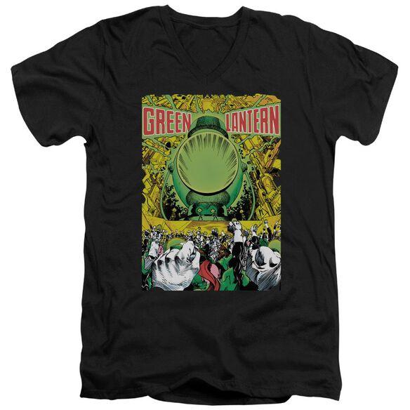 Green Lantern Gl #200 Cover Short Sleeve Adult V Neck T-Shirt