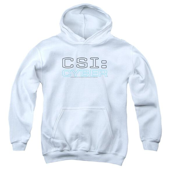 Csi: Cyber Logo Youth Pull Over Hoodie