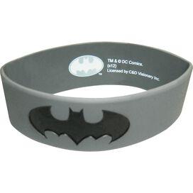 Batman Gray Rubber Wristband