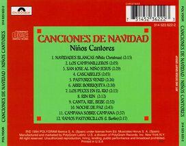 Ninos Cantores - Canciones de Navidad