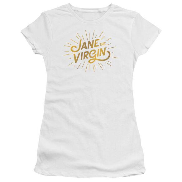 Jane The Virgin Golden Logo Premium Bella Junior Sheer Jersey