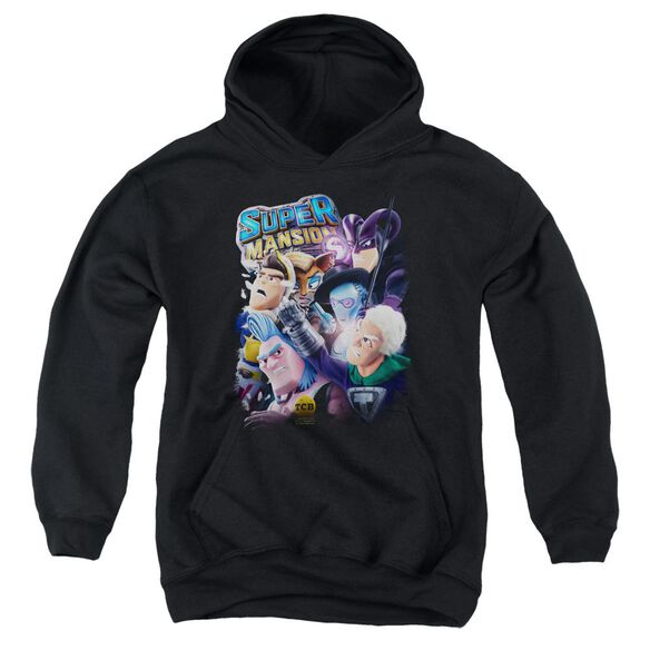 Super Mansion Super Group Youth Pull Over Hoodie