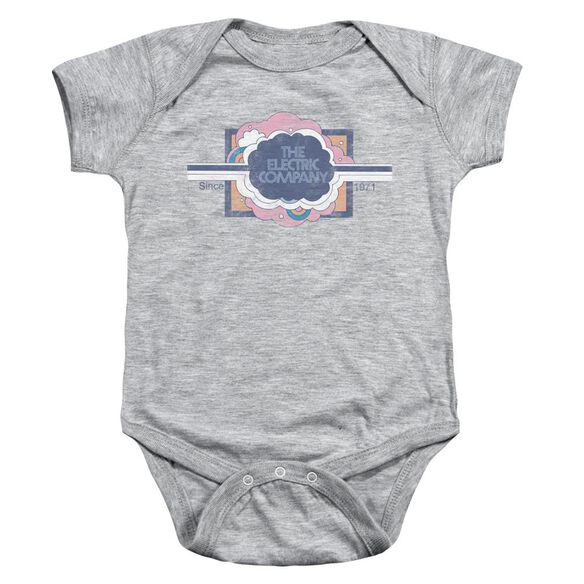 Electric Company Since 1971 Infant Snapsuit Athletic Heather
