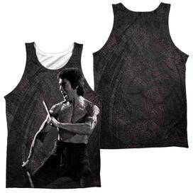 Bruce Lee Dragon Print Adult 100% Poly Tank Top