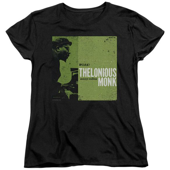 Thelonious Monk Work Short Sleeve Womens Tee T-Shirt