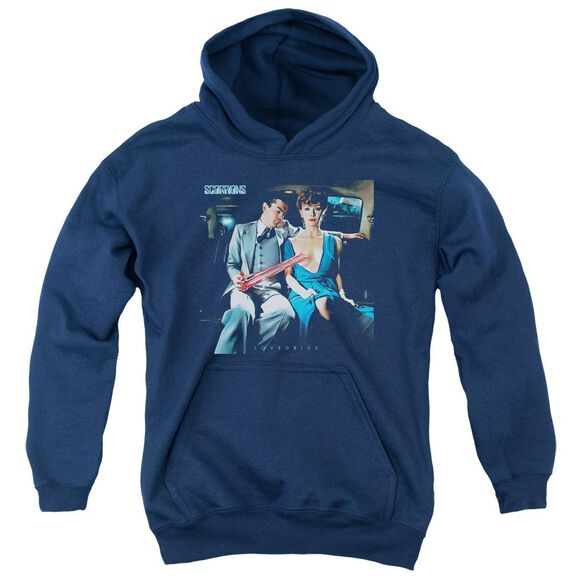 Scorpions Lovedrive Youth Pull Over Hoodie