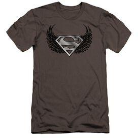Superman Dirty Wings Premuim Canvas Adult Slim Fit