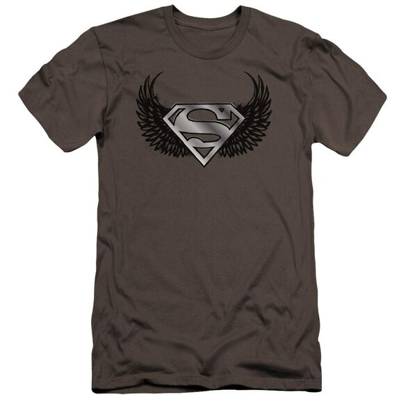 Superman Dirty Wings Premuim Canvas Adult Slim Fit