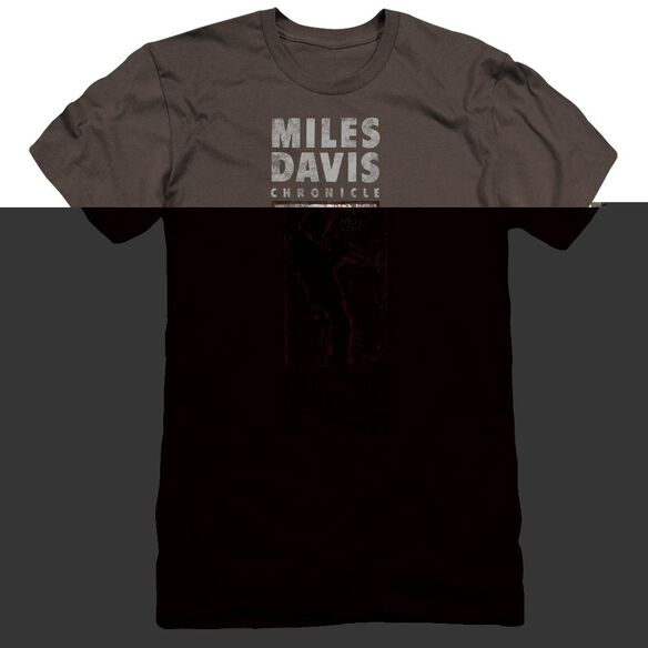 Miles Davis Miles Silhouette Premuim Canvas Adult Slim Fit